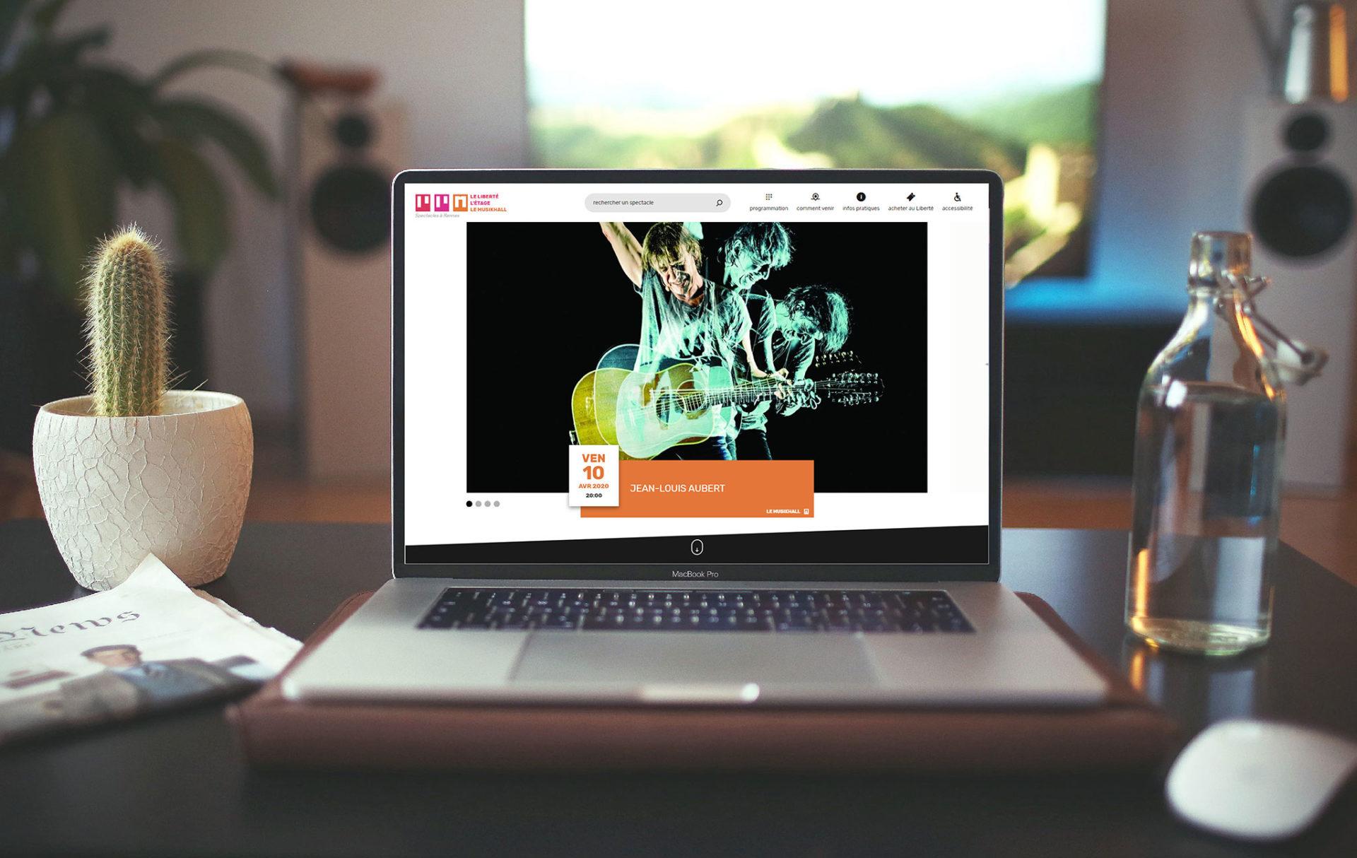 Site web Le Liberté